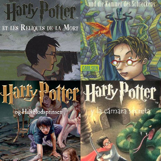 Harry Potter Book Covers From Around The World ~ Harry potter international book covers popsugar tech