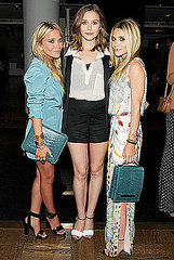 Mary-Kate,Elizabeth and Ashley Olsen