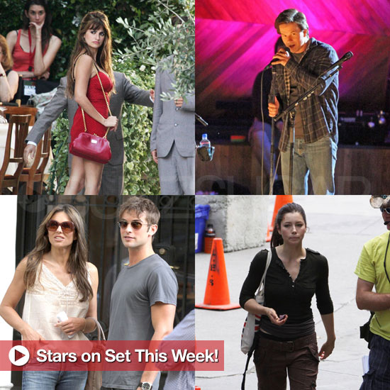 Penelope Cruz, Mark Wahlberg, Jessica Biel, and More Stars on Set This Week!
