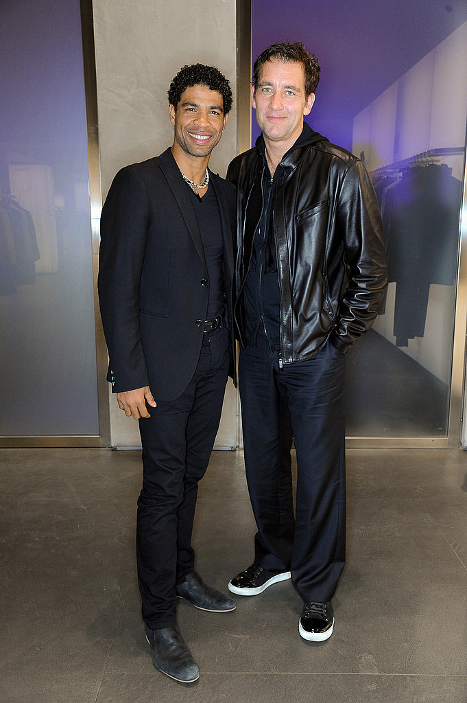 Clive Owen and pal Carlos Acosta.
