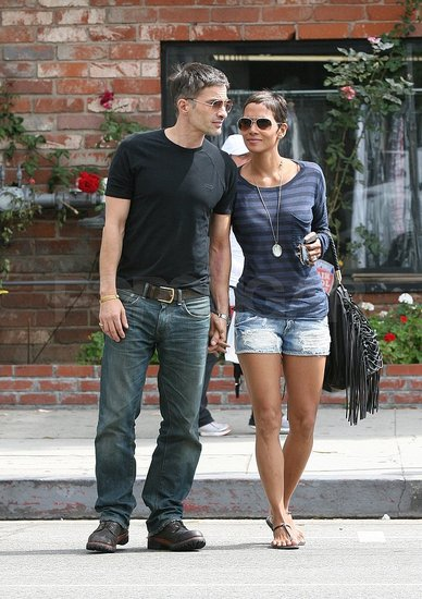 Halle Berry Celebrates Bastille Day With Her Number One Frenchie, Olivier Martinez