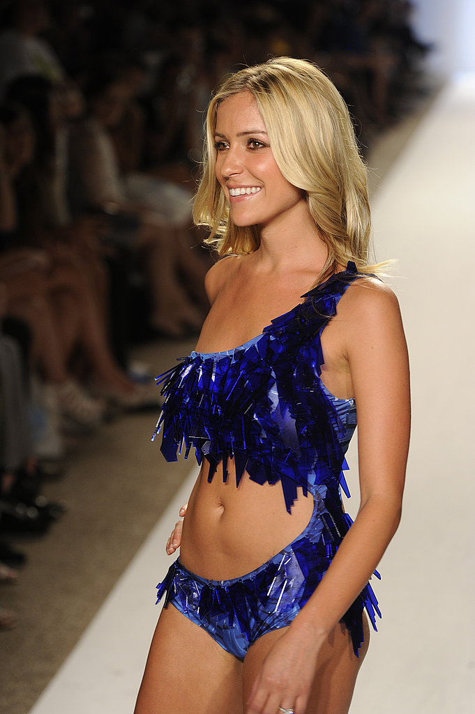 Kristin Cavallari  on the runway.