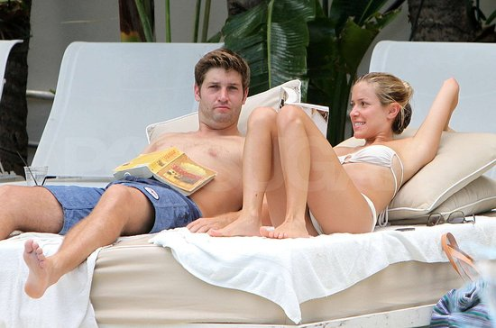 Kristin Cavallari Wears a Strapless Bikini at the Pool With Fiancé Jay Cutler