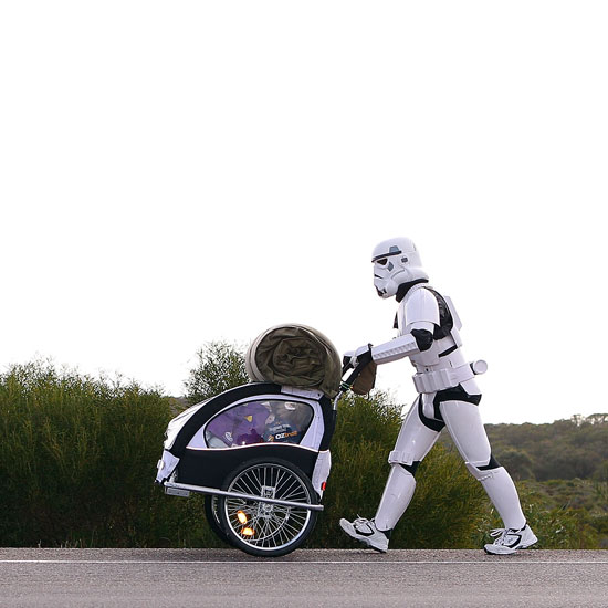 Stormtrooper Walking Through Australia For Charity