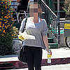 Celebrity in Workout Clothes at Lemonade Restaurant in LA