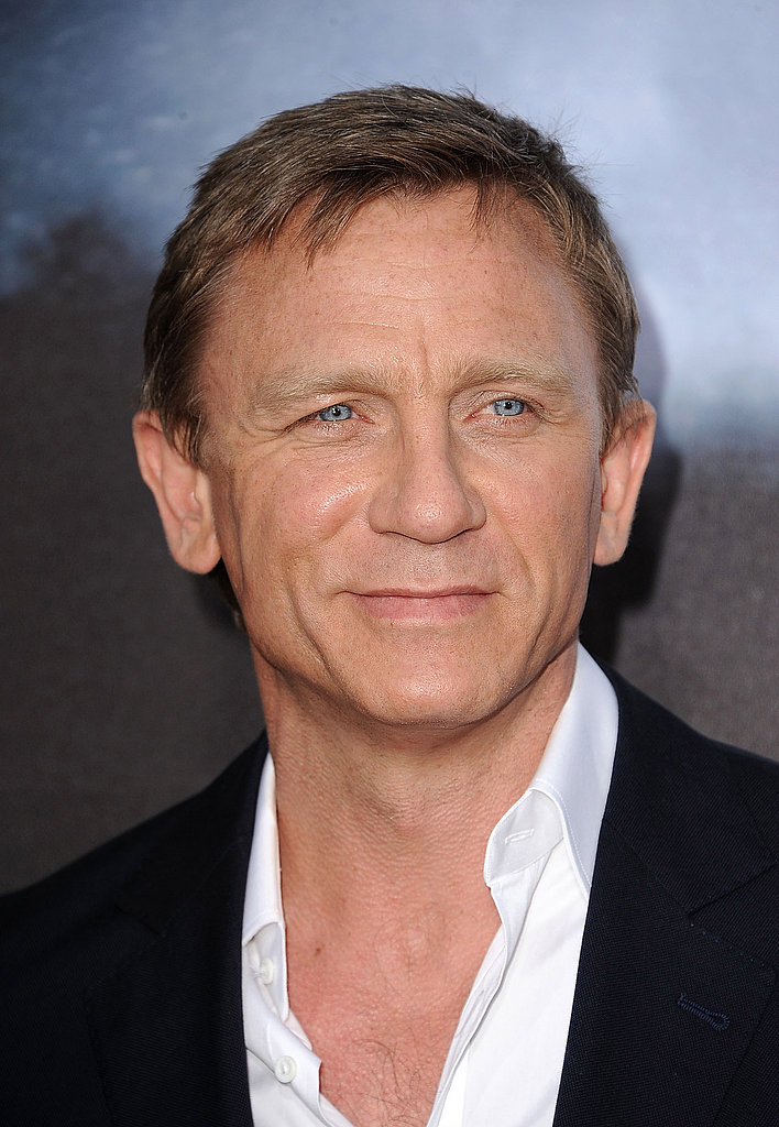 Daniel Craig looked dapper as ever.