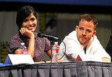 Freida Pinto and Stephen Dorff