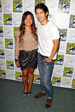 Jenna Ushkowitz and Harry Shum Jr.