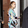 Jennifer Lopez Arriving For a Pre-Birthday Dinner in Miami Pictures