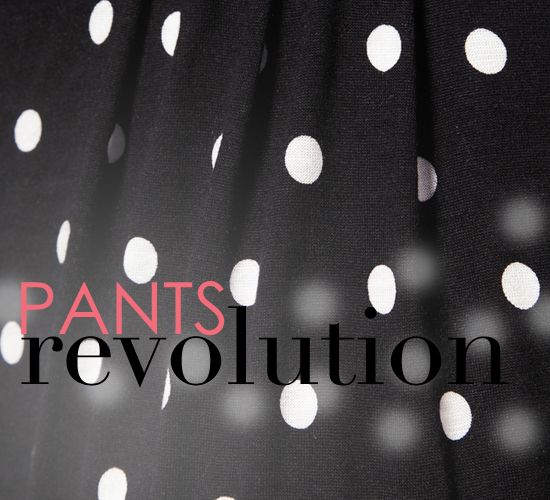 Shop Polka Dot Pants — Summer and Fall 2011 Fashion Trend