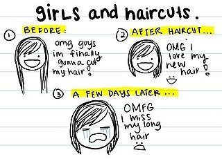 Comic: Girls and Haircuts