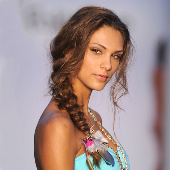 Miami Swim 2012: Hair and Makeup Ideas For the Pool and Beach