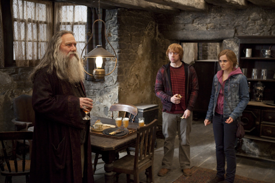 The Kids Meet Aberforth Dumbledore
