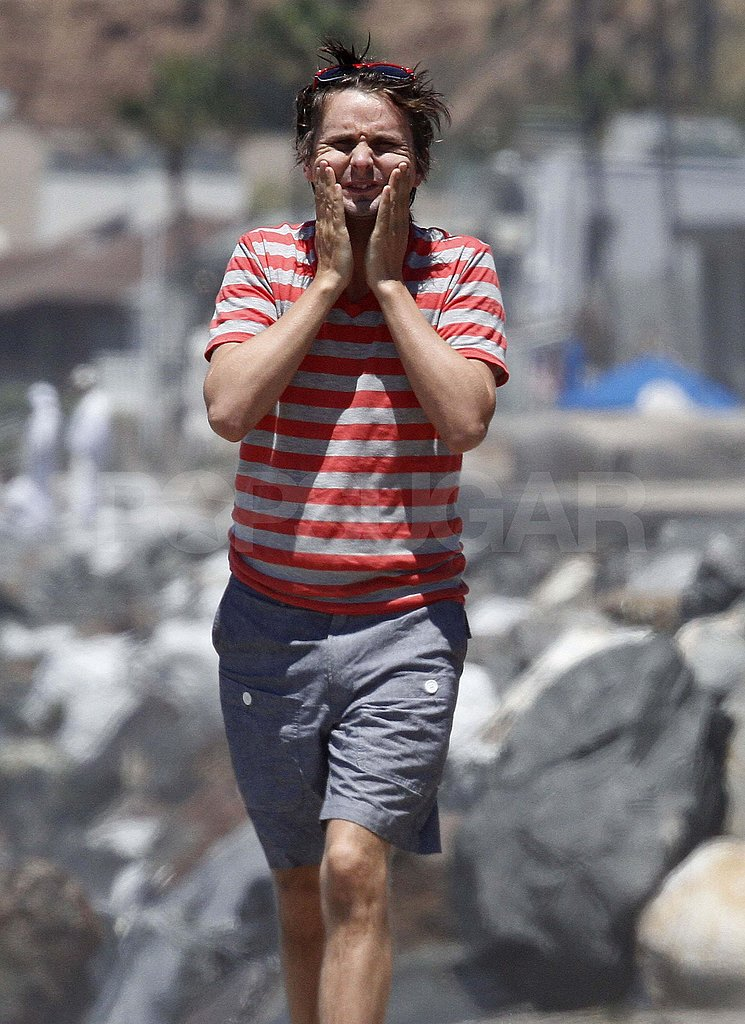 Matthew Bellamy in Malibu.