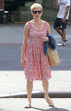 Michelle Williams in a Summery dress.