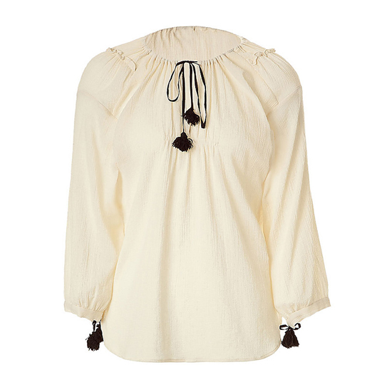 By Marlene Birger Belted Top, $185