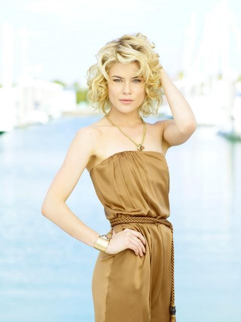 Rachael Taylor as Abby Sampson in ABC&#039;s Charlie&#039;s Angels.