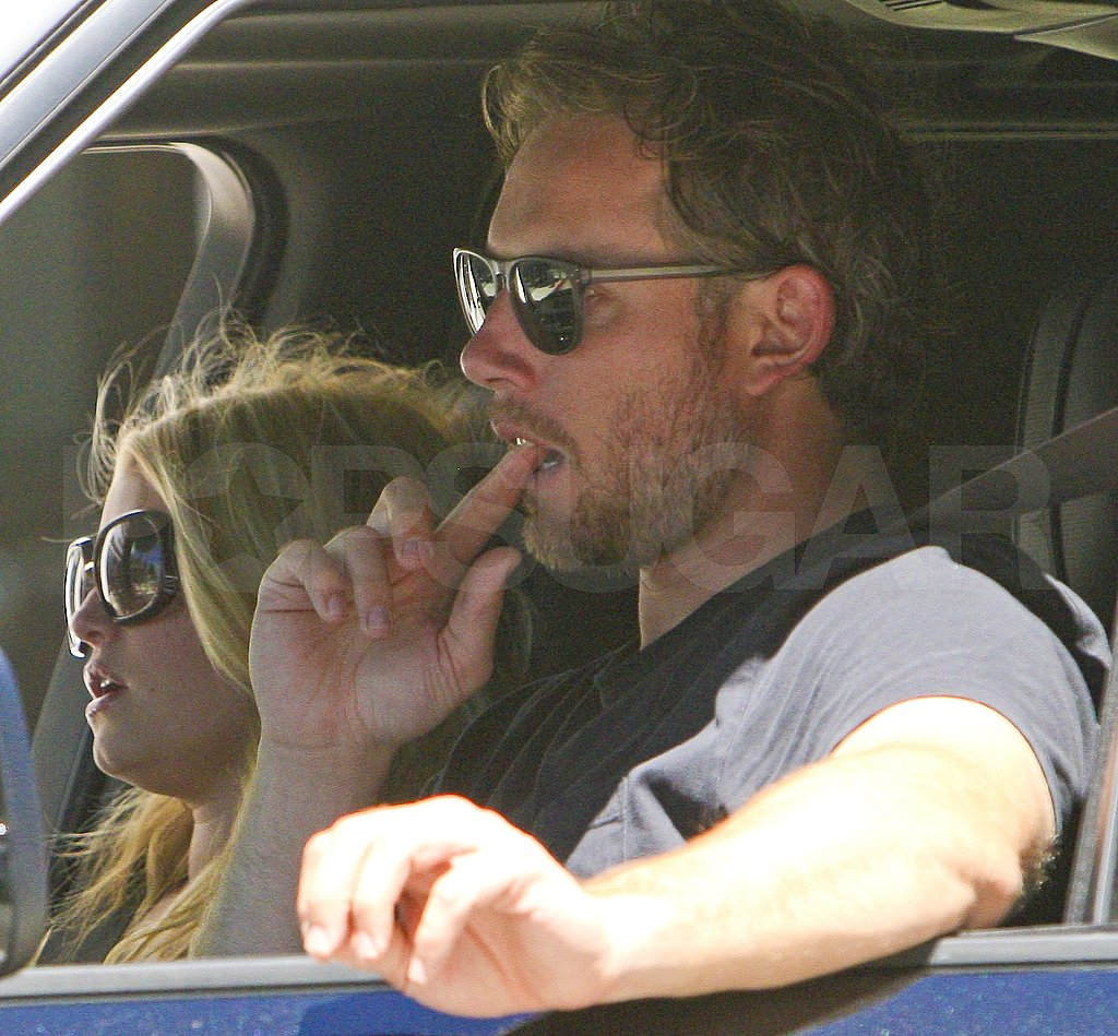 Jessica Simpson and Eric Johnson Take a Ride Together