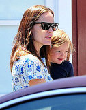 Jennifer Garner and Seraphina Affleck Spend a Sunny Afternoon Together
