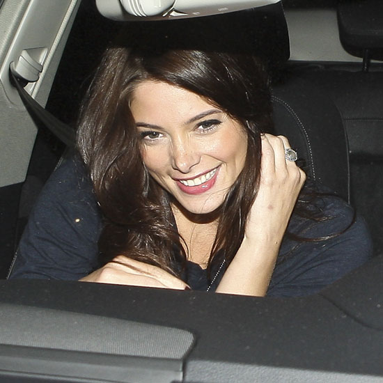 Twilight's Ashley Greene Leaving Dinner at Nobu With Friend