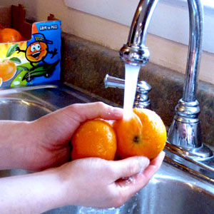 How to Keep the Kitchen Germ-Free