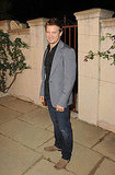 Jeremy Renner at a Miu Miu party.