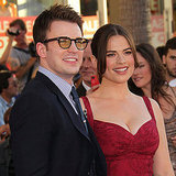 Chris Evans linked up with his Captain America costar Hayley Atwell.
