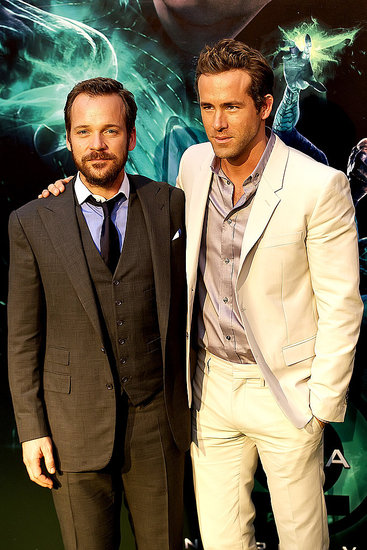 Ryan Reynolds and Peter Sarsgaard Take the Green Lantern to Spain
