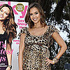 Jessica Alba and Lauren Conrad at Lucky Magazine Party
