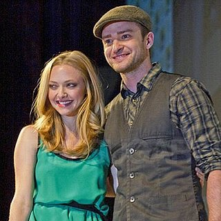 Justin Timberlake and Amanda Seyfried at Comic-Con Pictures