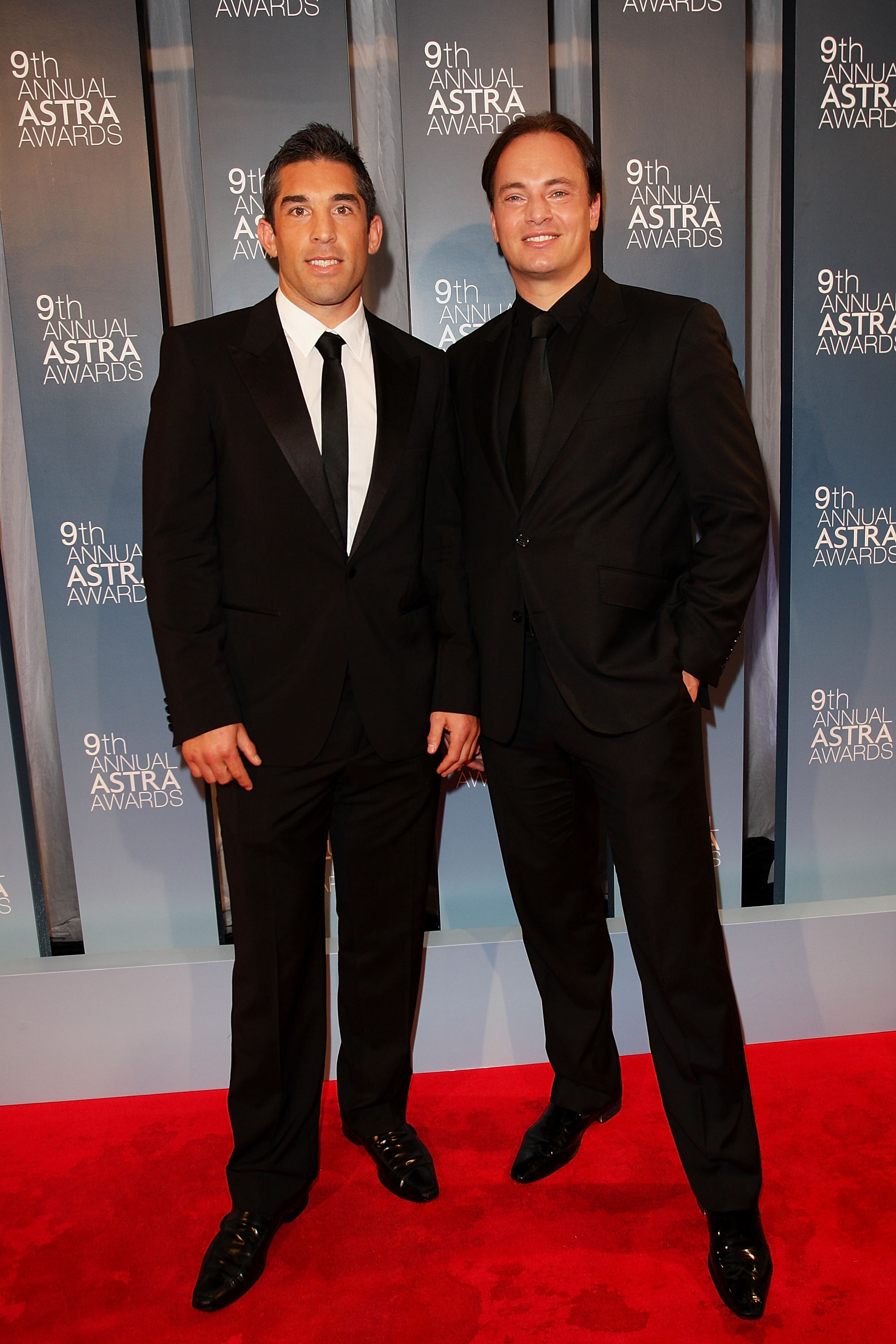 Braith Anasta and Mark Bosnich