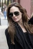 Angelina Jolie in sunglasses.