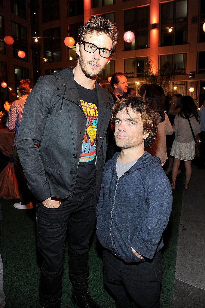 Ryan Kwanten and Peter Dinklage