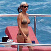 Catherine Zeta-Jones Bikini Pictures in Italy