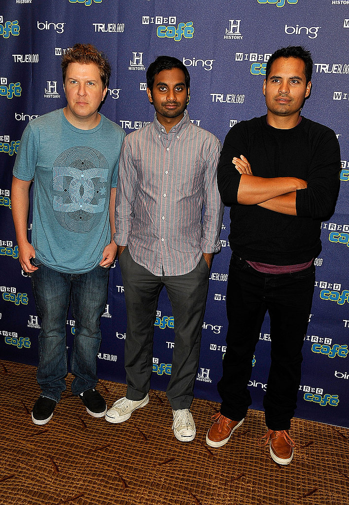 Nick Swardson, Aziz Ansari, and Michael Pena