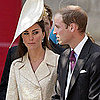 Kate Middleton Pictures After Zara and Mike&#039;s Wedding With Royals