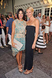 Gwyneth Paltrow and Jessica Seinfeld at the Baby Buggy benefit dinner.