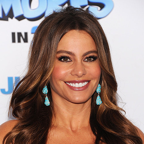 Get Sofia Vergara's Makeup Look From The Smurfs Premiere