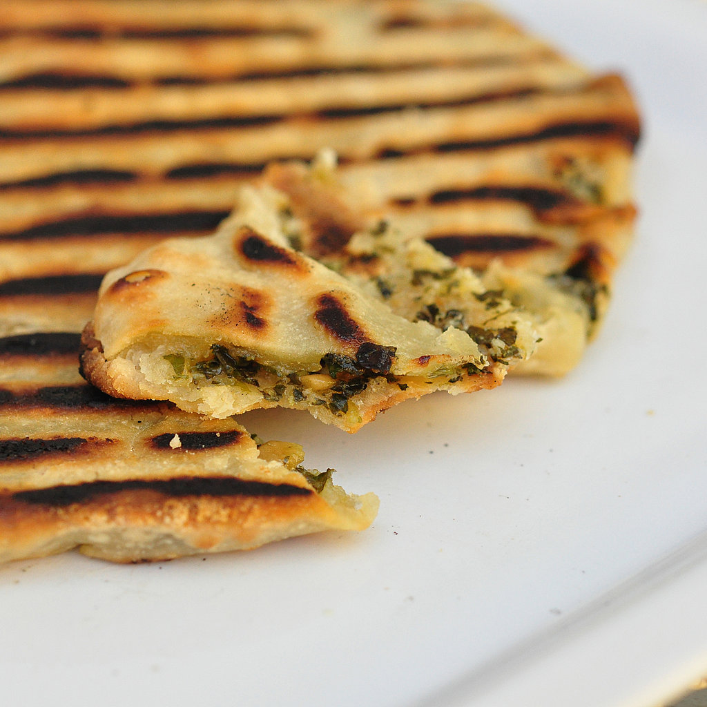 Grilled Flatbread Recipe | POPSUGAR Food