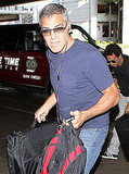 George Clooney at LAX.