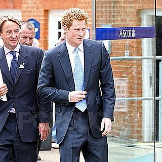 Prince Harry Pictures at Ascot in London