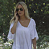Kristin Cavallari Walking Her Dog Without Ring Pictures