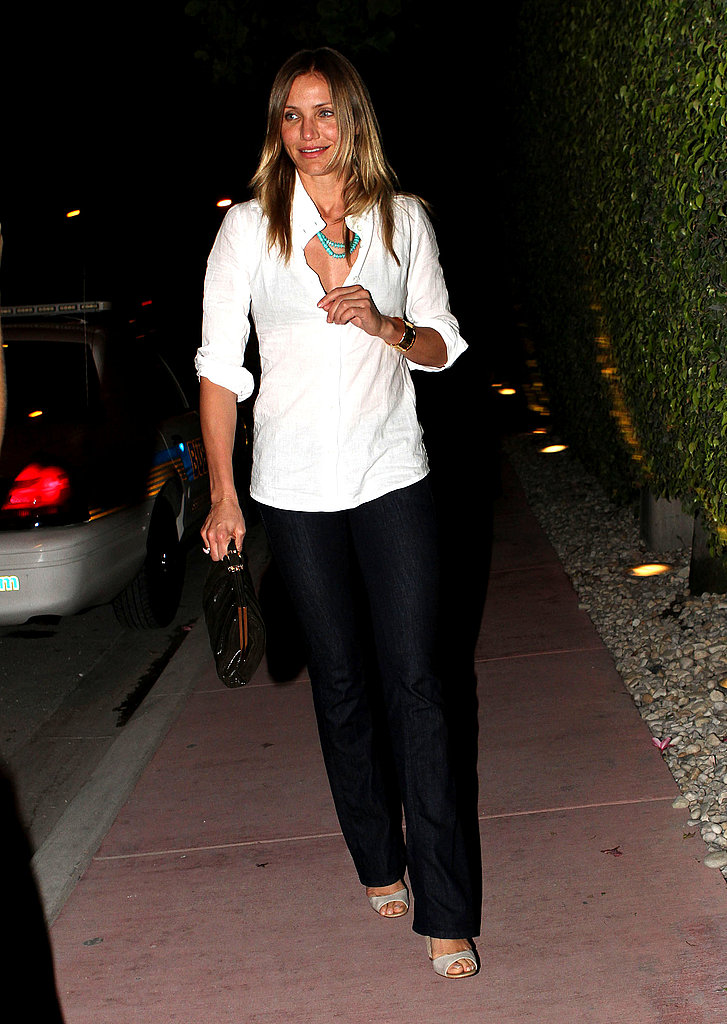 Cameron Diaz stepped out solo on Saturday.