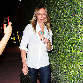 Cameron Diaz and Alex Rodriguez Go to the Movies in Miami Pictures