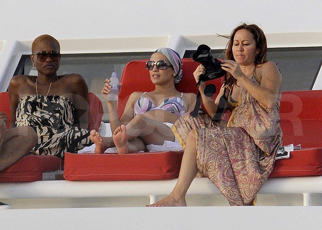 Jennifer Lopez Celebrates 42 With Bikinis and Dancing!
