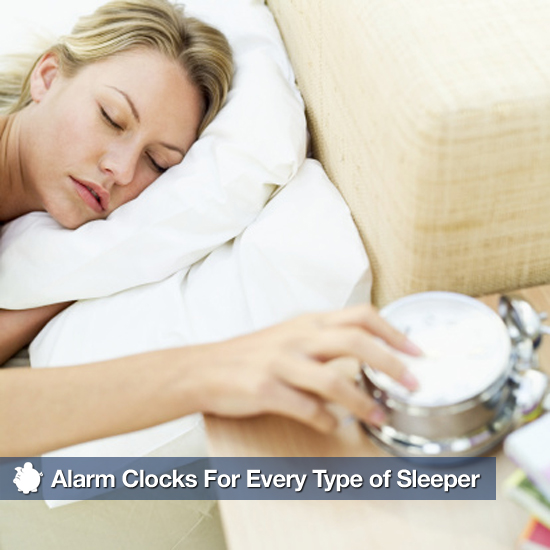 Alarm Clocks For Every Type of Sleeper
