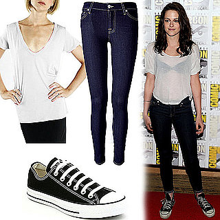 Kristen Stewart and Ashley Greene Wear Jeans and Tees 2011-07-25 08:43:32