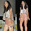Jessica Biel in Christian Cota at 2011 Comic-Con Pictures