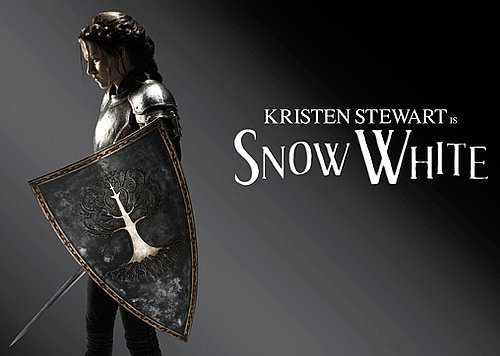 Pictures of Kristen Stewart as Snow White, Charlize Theron as Evil Queen, Chris Hemsworth as Huntsman