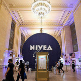 "Nivea Celebrates 100 Years With a ""House"" in Grand Central Station"